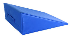 CanDo® Positioning Wedge - Foam with vinyl cover - Firm - 20 x 22 x 8 inch - Specify Color