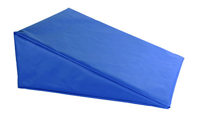 CanDo® Positioning Wedge - Foam with vinyl cover - Soft - 20 x 22 x 8 inch - Specify Color
