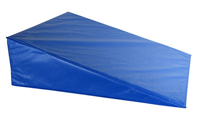 CanDo® Positioning Wedge - Foam with vinyl cover - Medium Firm - 24 x 28 x 8 inch - Specify Color