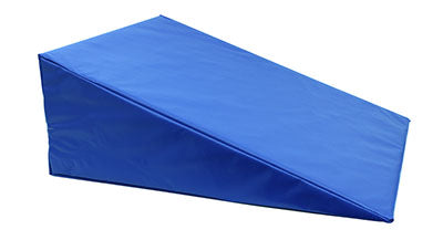 CanDo® Positioning Wedge - Foam with vinyl cover - Medium Firm - 24 x 28 x 10 inch - Specify Color