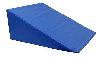 CanDo® Positioning Wedge - Foam with vinyl cover - Medium Firm - 24 x 28 x 12 inch - Specify Color
