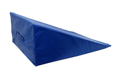 CanDo® Positioning Wedge - Foam with vinyl cover - Soft - 24 x 28 x 12 inch - Specify Color
