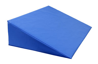 CanDo® Positioning Wedge - Foam with vinyl cover - Firm - 30 x 20 x 8 inch - Specify Color