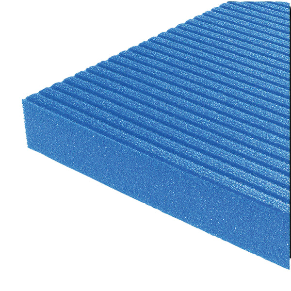 Airex Exercise Mat - Hercules - Blue, 78 in. x 39 in. x 1 in., case of 6