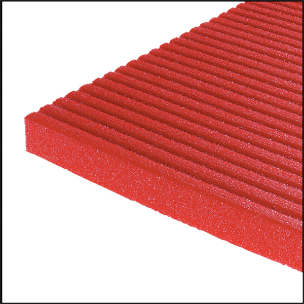 Airex Exercise Mat - Atlas - Red, 78 in. x 48 in. x 5/8 in.