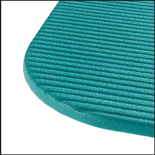 Airex Exercise Mat - Fitline 180, Aqua, 23 in. x 72 in. x 0.4 in.