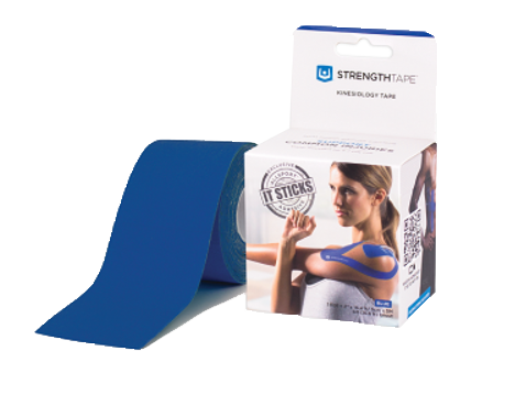 StrengthTape® Kinesiology Tape 5M Uncut Roll Royal Blue