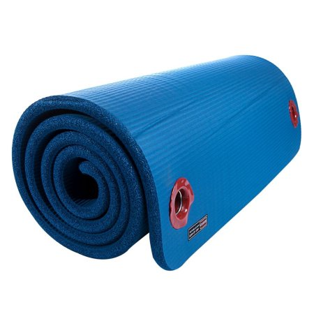 ArmaSport Exercise Mat - Power-15 - 40 x 78 x 0.6 in, Blue, bulk pack of 10
