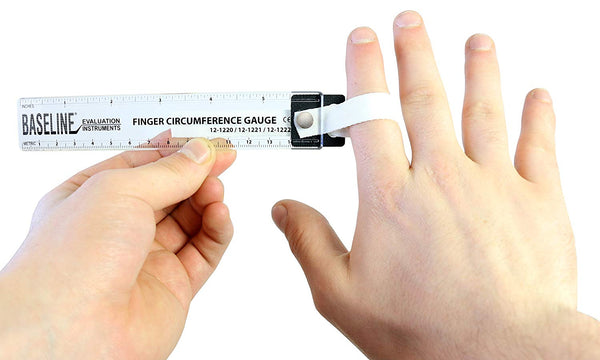 Baseline® Finger Circumference Gauge, 15 cm Maximum