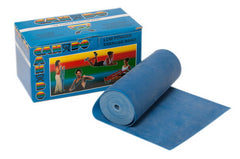 CANDO® Low Powder Exercise Band - 6 Yard Roll - Blue (Heavy)