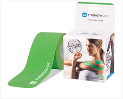 StrengthTape® Kinesiology Tape 5M Precut Roll Green
