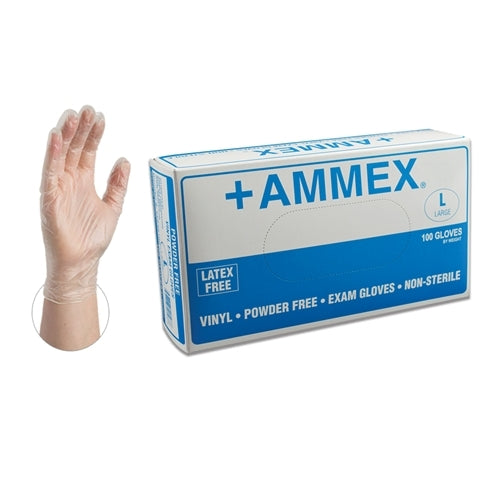 AMMEX Vinyl PF Exam Gloves