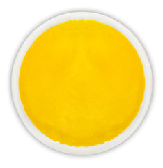"Personalized Reusable Hot/Cold Gel Pack, 6"" Round - Yellow"