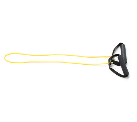 "CanDo® Tubing with Handles - 48"" - Yellow - x-light"