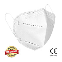 KN95 Respiratory Masks - Certified KN95 Fit Tested Face Masks (Qty 50 per box)