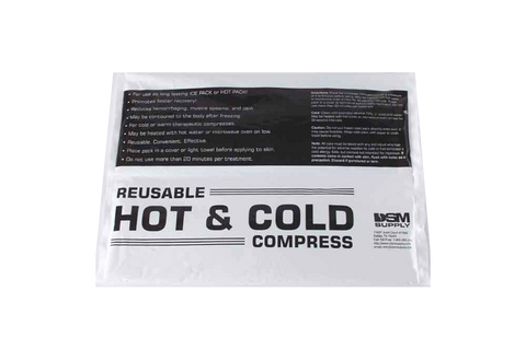 "Reusable Hot/Cold Compress, 10"" x 15"" (12 count case @ $1.99/each)"