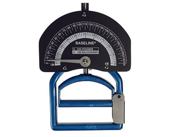 Baseline® Dynamometer - Smedley Spring - Adult - 220 lb. Capacity