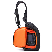 CADeN Sling Shoulder Camera Bags Waterproof Nylon with Rain Cover