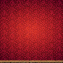 10X10ft red vinyl backdrops photography damask pattern photographic background