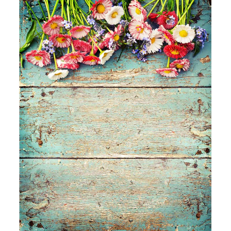 Children floral computer Printing cloth photo background 5X7ft
