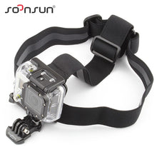 SOONSUN Elastic Adjustable Head Strap Mount Belt With Anti Slide Glue Mount