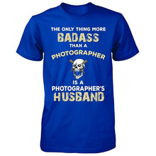 Badass Photographer Husband. Cool Gift - Unisex Tshirt
