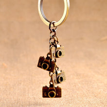 Camera keychain key ring for women