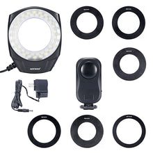 NEEWER Macro Ring LED Light Works with Canon Sony Nikon Sigma lenses