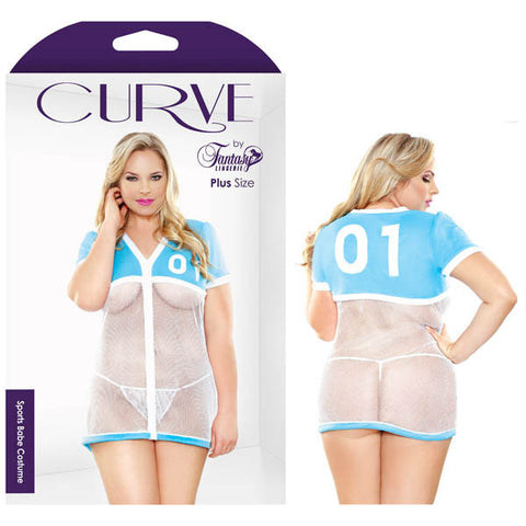 Curve Sports Babe Costume