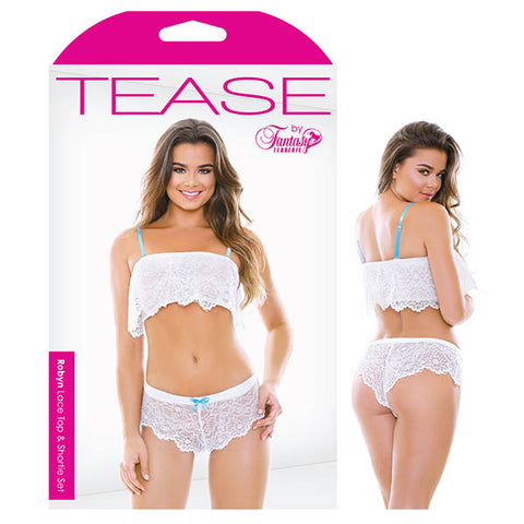 Tease Robyn Lace Top & Shortie Set