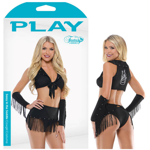 PLAY SASSY IN THE SADDLE Cowgirl Costume