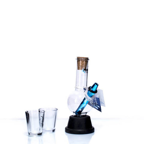 Sapphire Pourite With Shot Glass Gift Box