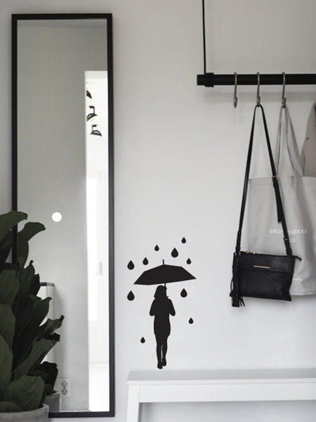 """Rainy day"" Wallsticker"