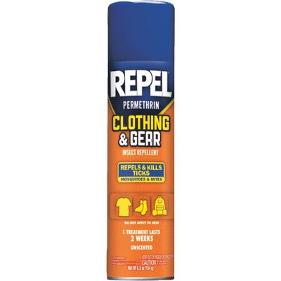 Repel Permethrin Clothing & Gear Insect Repellent, 6.5-Ounce