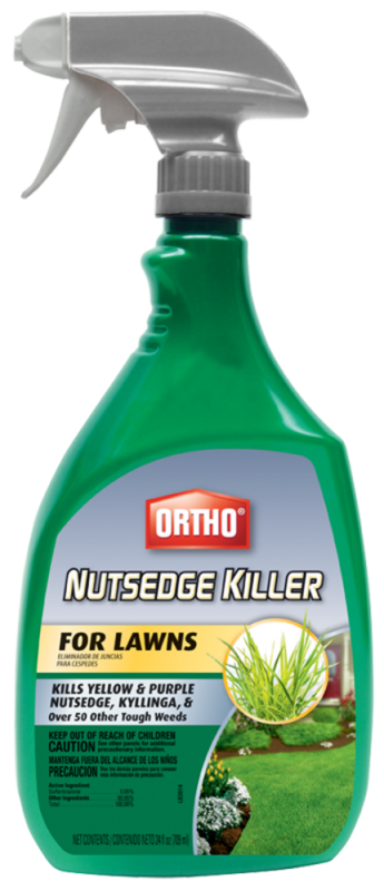ORTHO® NUTSEDGE WEED CONTROL FOR LAWNS (Spot Spray)