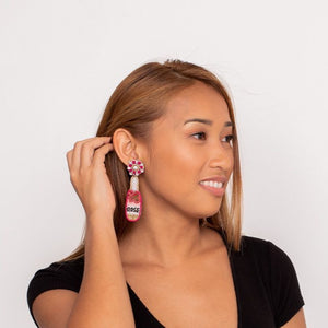 Rosé All Day Earrings