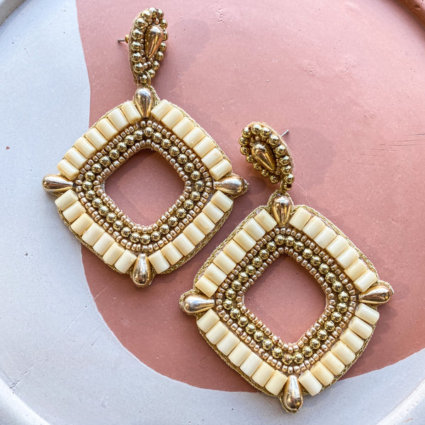 Bali Beaded Earrings