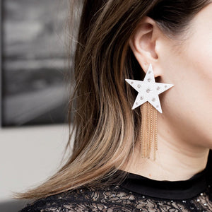 Brilliant Star Earrings
