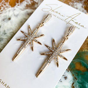 Starburst Sparkle Earrings