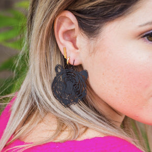 Wild One Earrings - Black