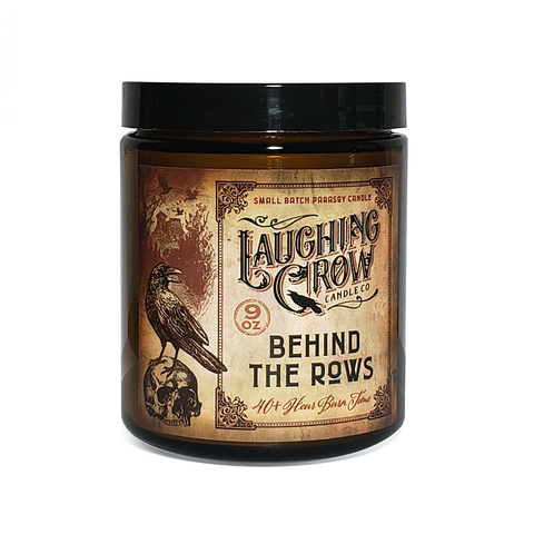 Behind The Rows Wood Wick Candle