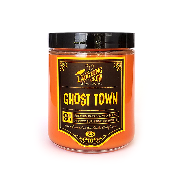 Ghost Town Candle