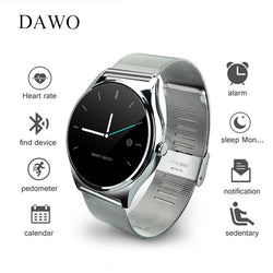 DAWO Smartwatch Heart Rate Monitor Sleep Tracker Remote Control 9.8mm Screen Bluetooth Smart Watch For IOS Android PK K88h GW01