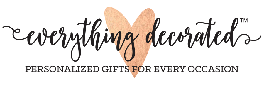 Everything decorated personalized gifts for every occassion negle Gallery