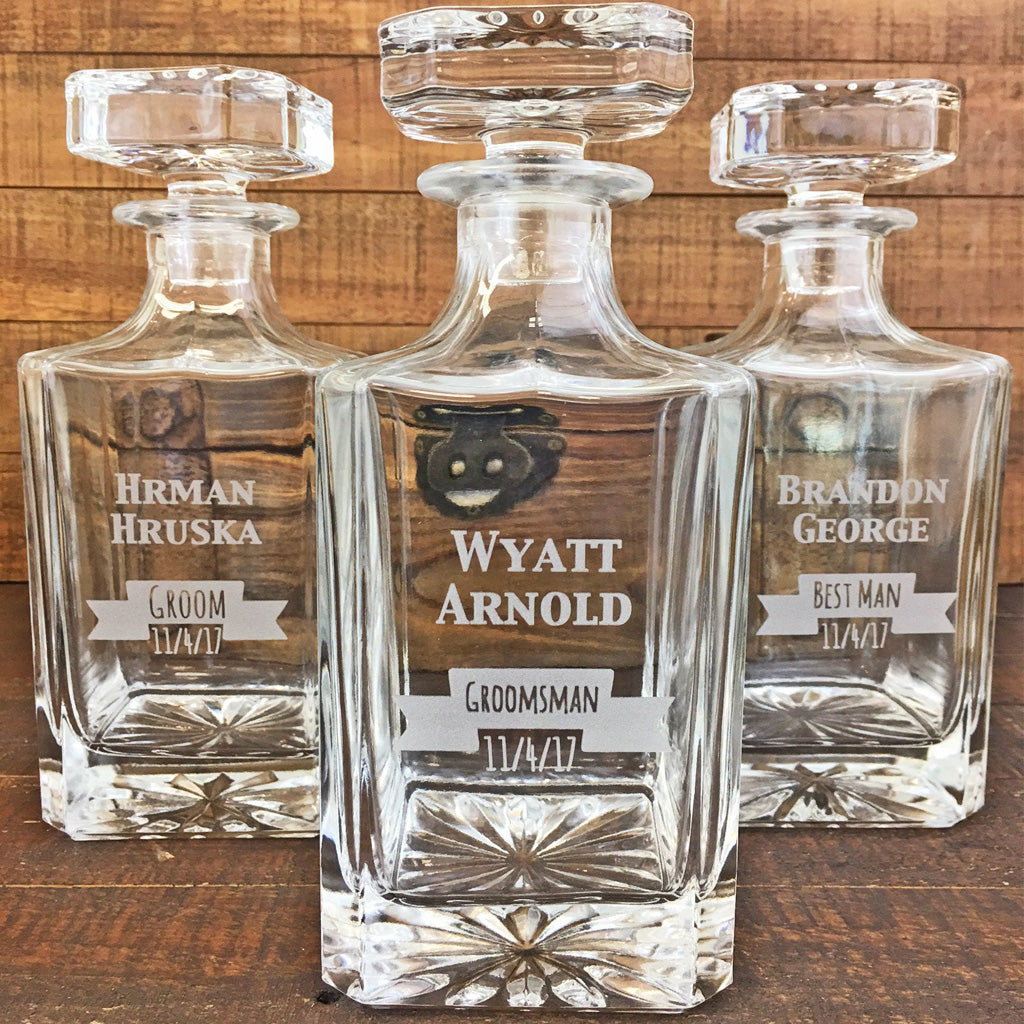Whiskey Decanter - Unique Wedding Gifts