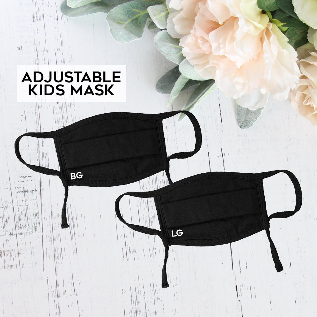 Adjustable Kids Face Mask