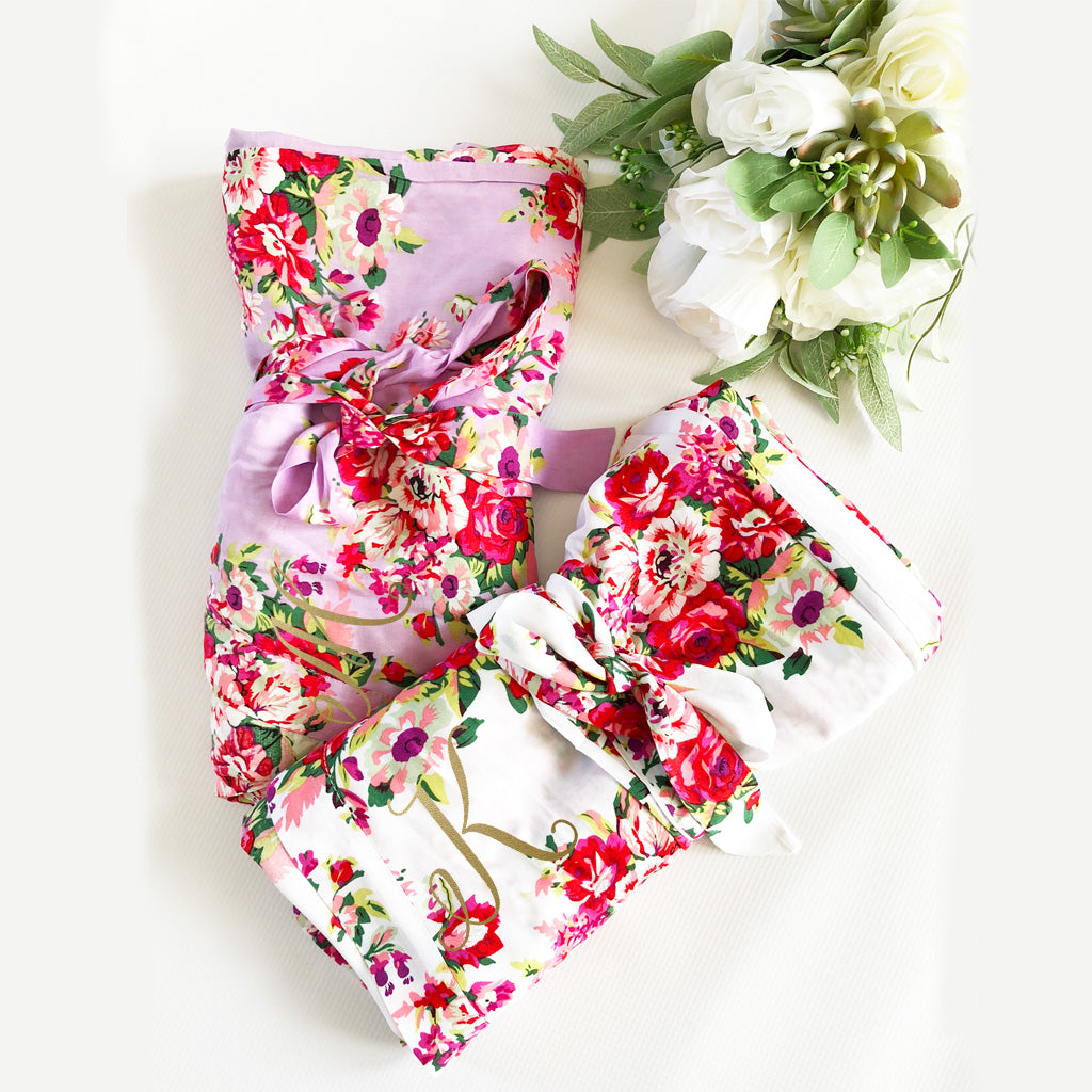 Bridal Party Floral Robes – Everything Decorated