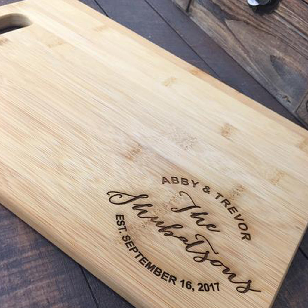 Custom Cutting Boards - Bamboo