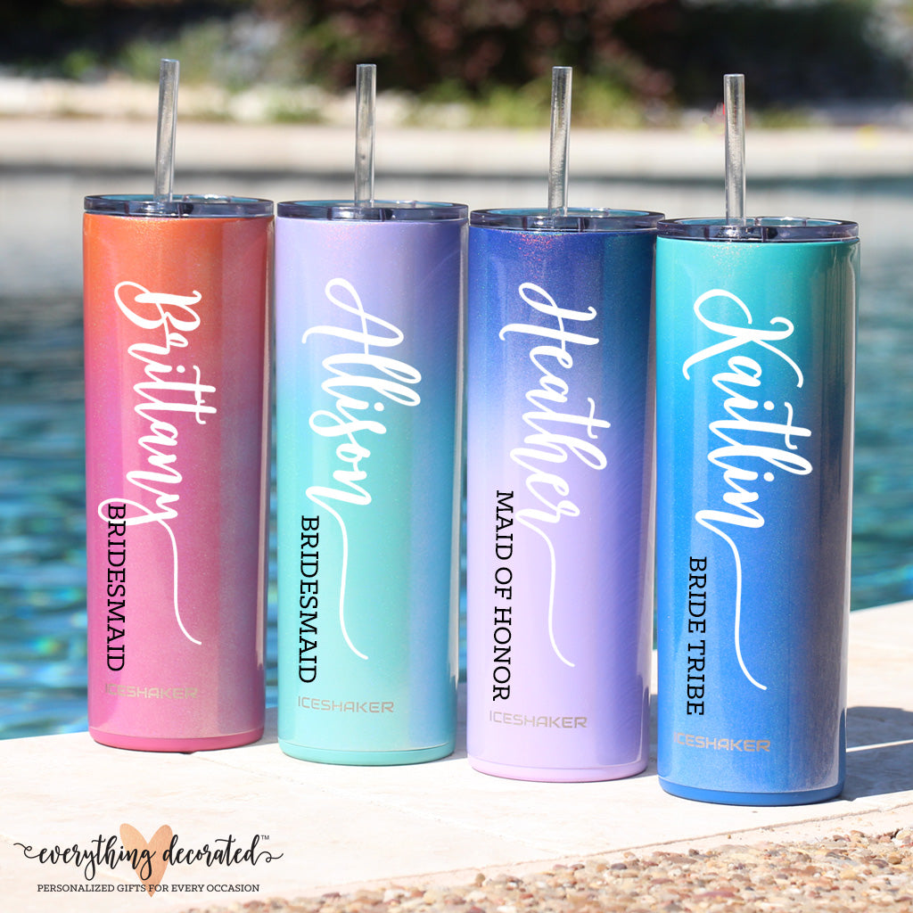 Bridesmaid Tumblers Gift