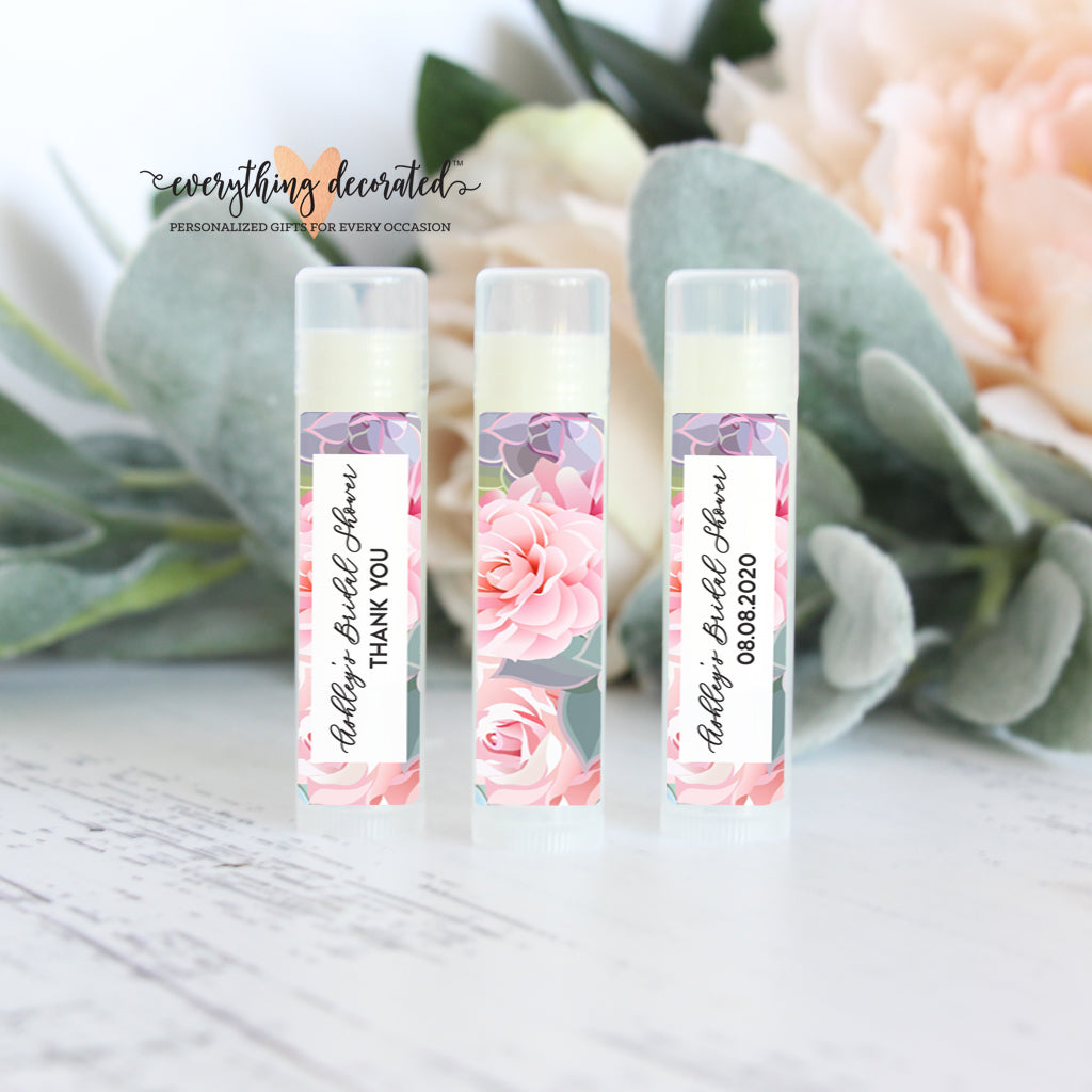 Lip Balm Favors - Succulent